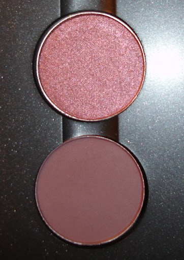 MAC Pro Pan Blackberry and Star Violet Eyeshadow