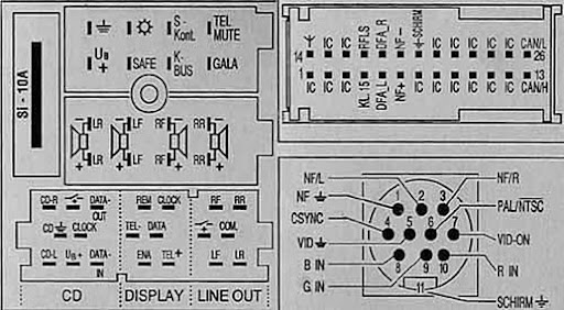 Parts In Addition Stereo Audio Wiring Diagram Autoradio Connector Wire