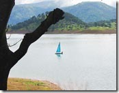 A view of Umiam lake( Telegraph picture)