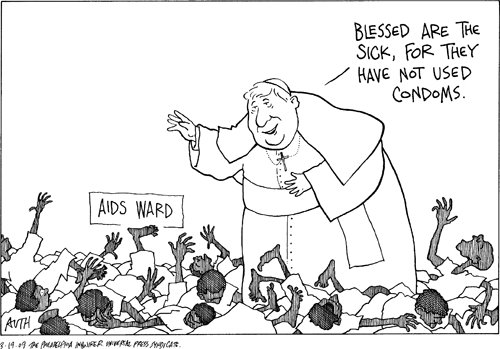 The Frustrated Teacher: Friday Cartoon Fun: The Pope Is An