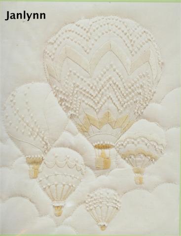 hot air balloons candlewicking kit