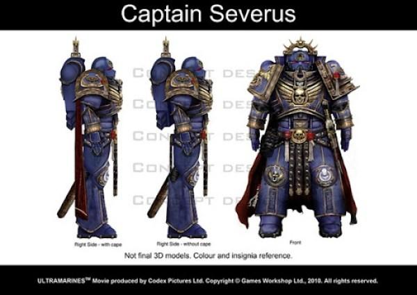 Ultramarines Captain Severus