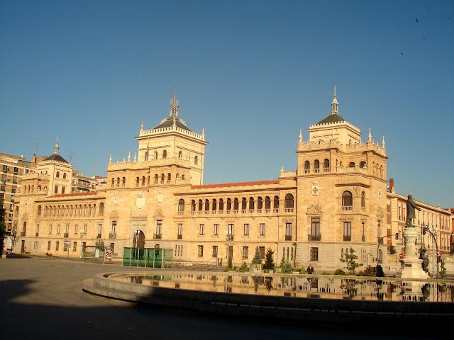Academia de Caballería y José Zorrilla