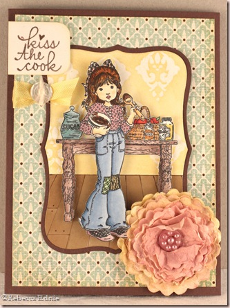 baker girl card