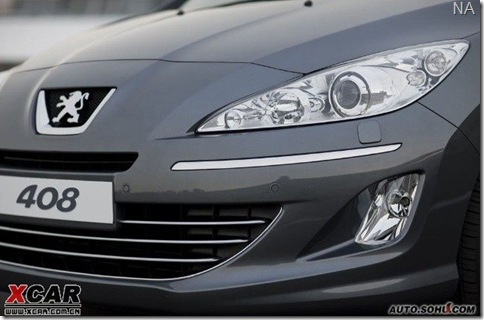Peugeot 408-308 sedan  2010 china 2