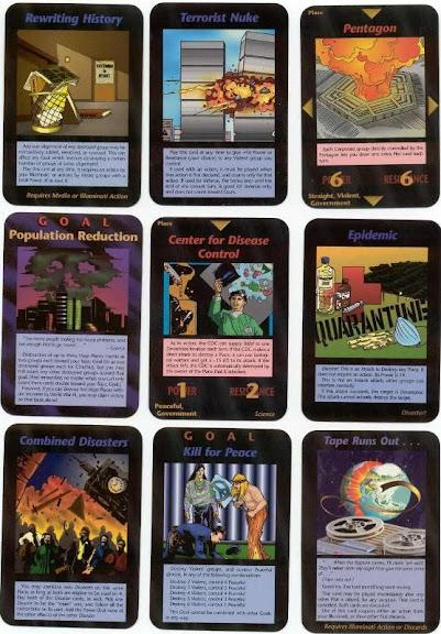 Illuminati Cards - karty Iluminatów