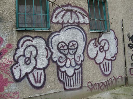 lsd, falfirka, grafitti, graffito