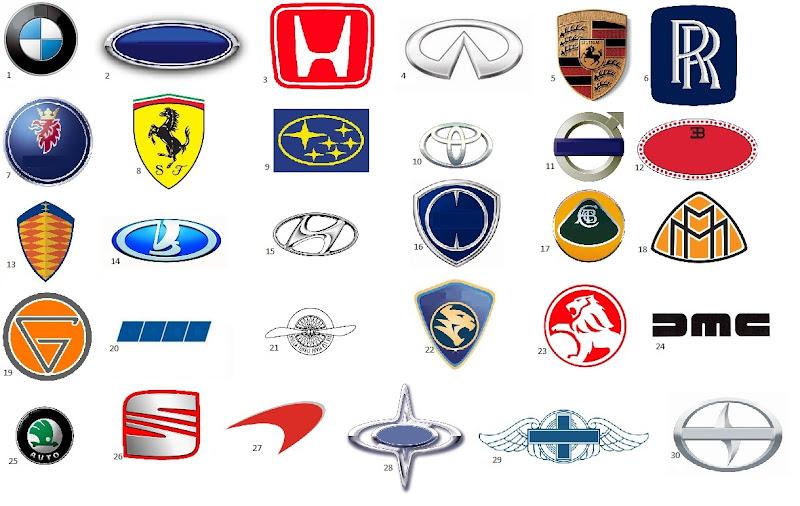 name that car manufacturer
