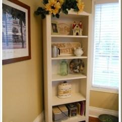 Kitchen Bookshelf Italian Art Prints Recaptured Charm Bookcase Redo 001