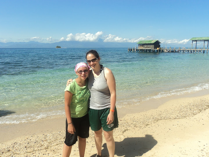 Margaret and I on Cayo Menor.