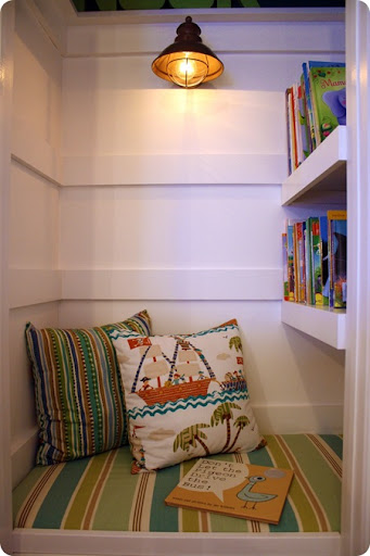 bench seat in closet