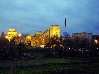 турция истанбул златна порта