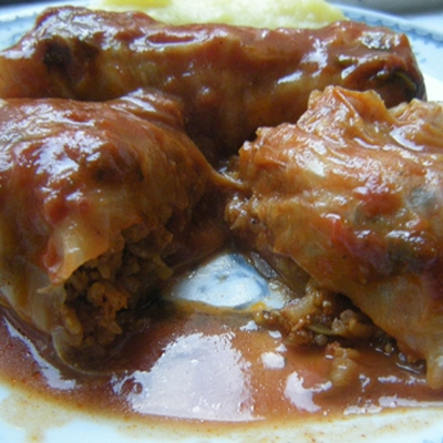 Sweet Food-Sarma od slatkog kupusa