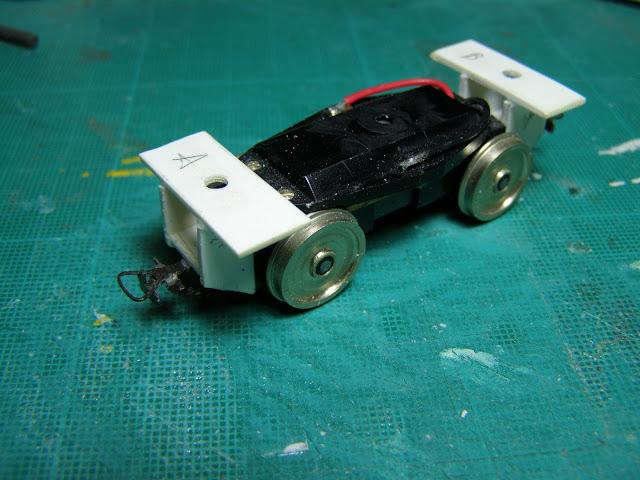 Black Beetle motor bogie