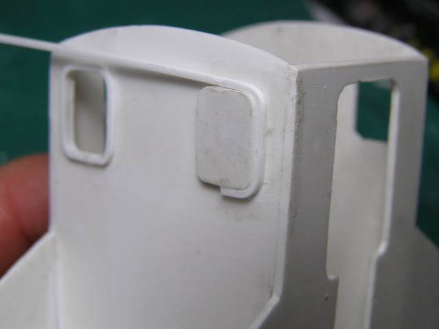 Curving styrene around former