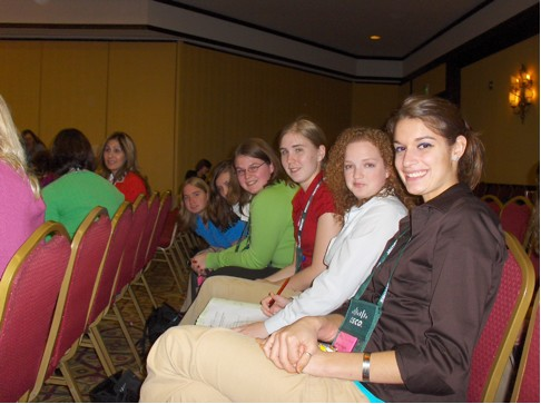 Valpo SWE Members at the 2008 National Conference.