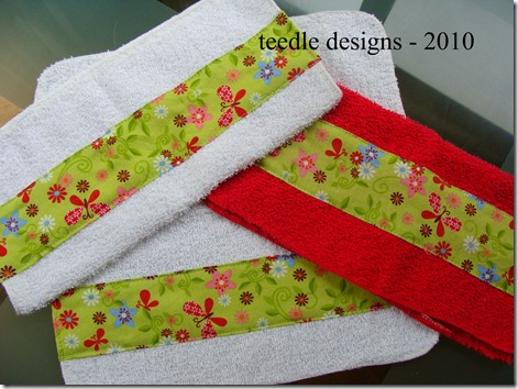 cloth green floral2