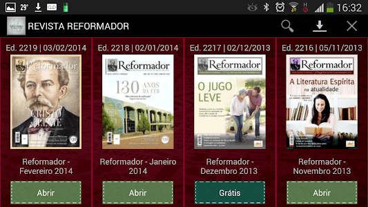 Revista Reformador screenshot 4