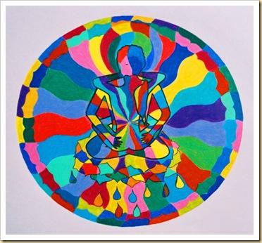 mandala-yab-yum-tibetan-buddhism-drawing-modern-art-work