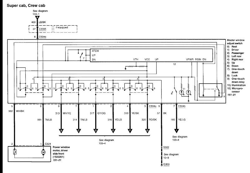 2006 F150 Door Wiring Diagram F150online Forums