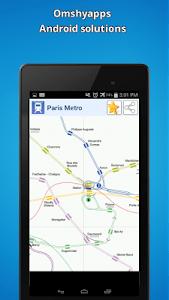 Paris Metro Map screenshot 1