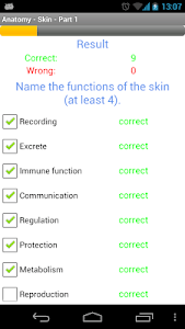Anatomy - Skin screenshot 2