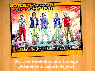 Fame: One Direction Comic Book screenshot 2