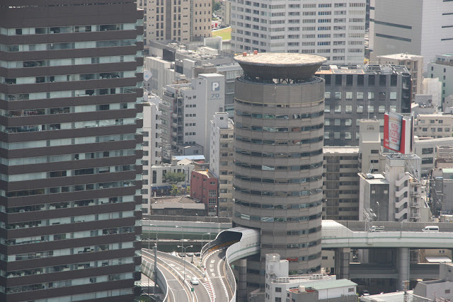 una autopista en el edificio!