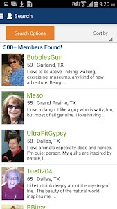 Senior People Meet Dating App screenshot 3