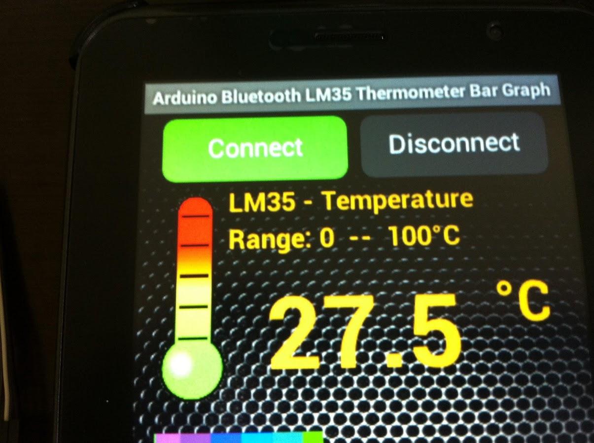 Bar Graph Temperature Indicator Using Lm35 Circuits4youcom