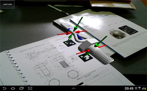 AR CAD - MagicBook screenshot 3