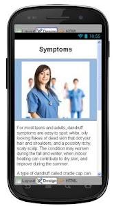Dandruff Disease & Symptoms screenshot 2
