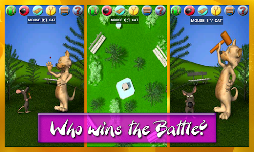 Talking Cat Vs. Mouse Deluxe screenshot 11