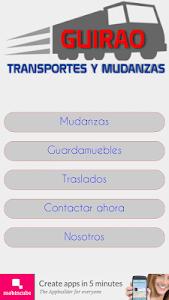 Mudanzas Guirao screenshot 4