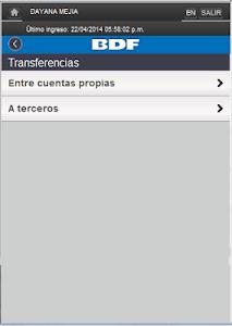 iBDF Móvil screenshot 11