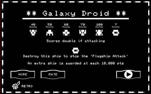 Galaxy Droid screenshot 5