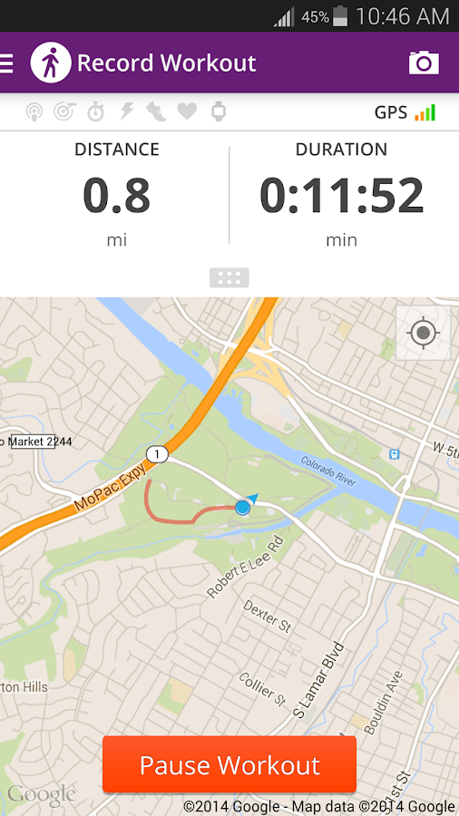 Walk with Map My Walk - Android Apps on Google Play