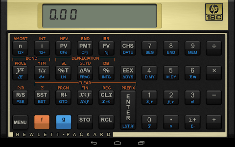 HP 12c Financial Calculator screenshot 8