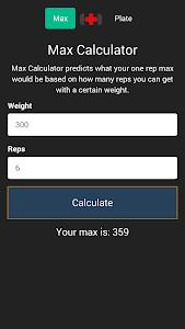 Barbell Toolbox screenshot 0