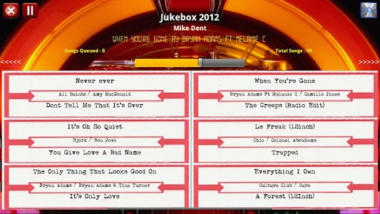 Jukebox 2012 Free Edition screenshot 2