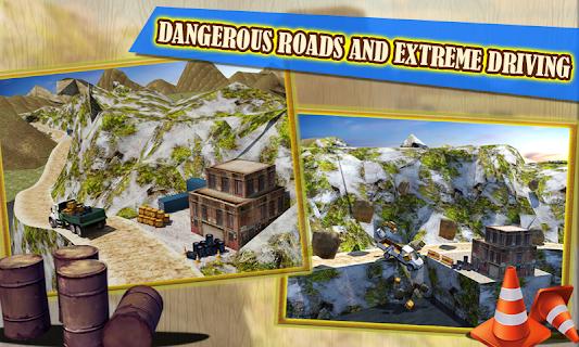 4x4 Hill Driver 3D Free screenshot 01