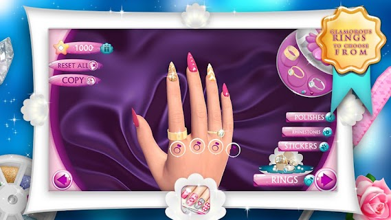 Fashion Nails 3D Girls Game screenshot 05