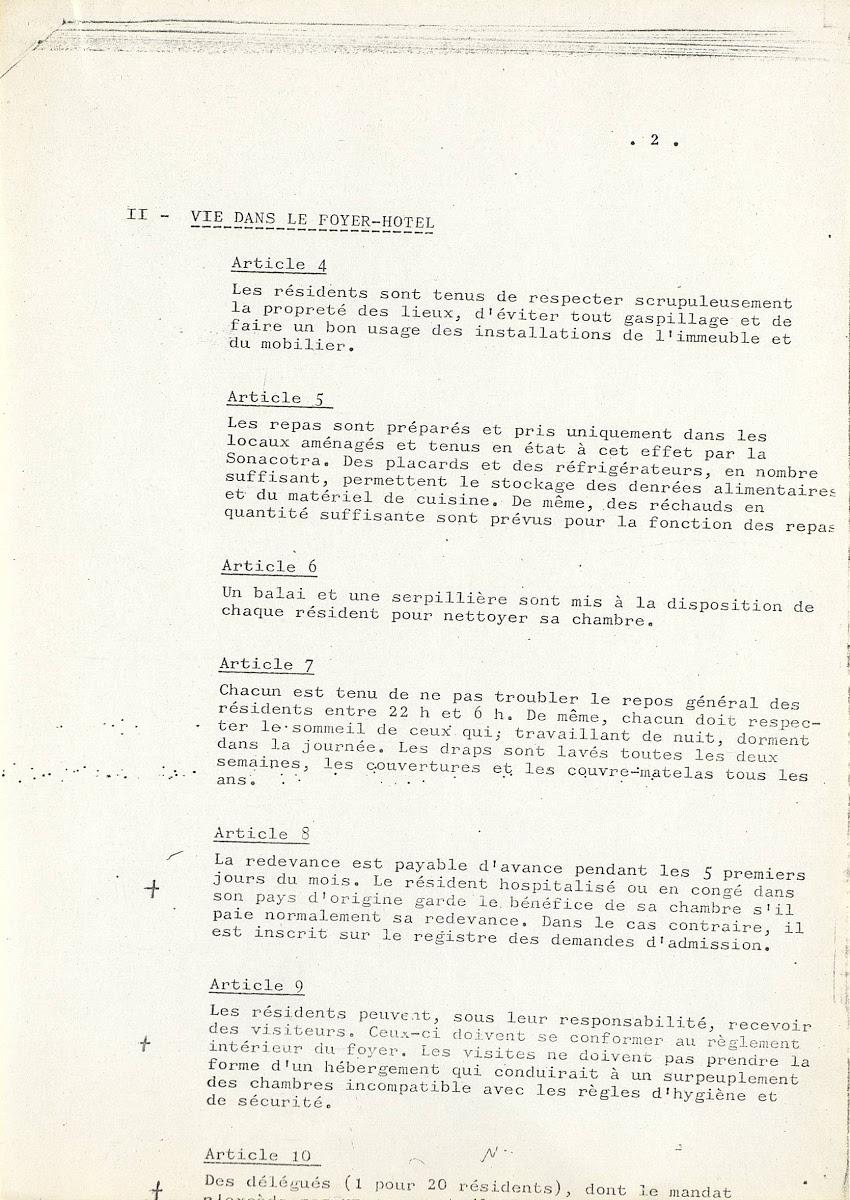 Tout Les Deux Ou Tous Les Deux : Réglement, Intérieur, Foyer-hôtel, Saint-Denis, Google, Culture