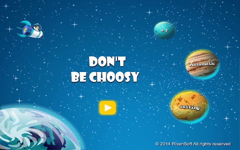 Don't be Choosy screenshot 1