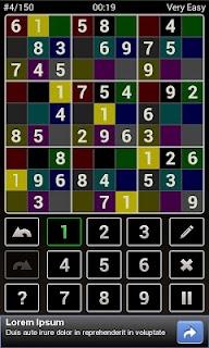 Andoku Sudoku 2 Free screenshot 02