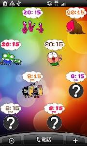 Daily Cartoon007 LWP & Clock screenshot 5