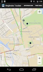 Begbroke Science Park Minibus screenshot 1