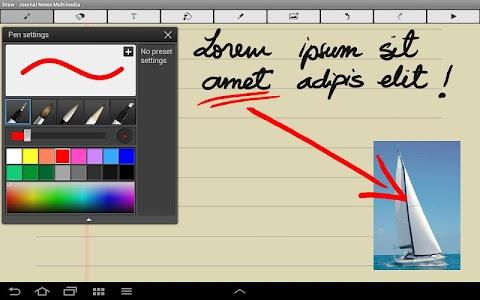 Diary Notes Multimedia screenshot 3