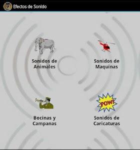 Efectos De Sonido screenshot 0