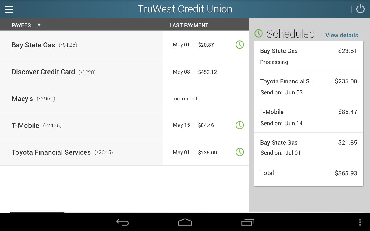 TruWest Credit Union  Android Apps on Google Play